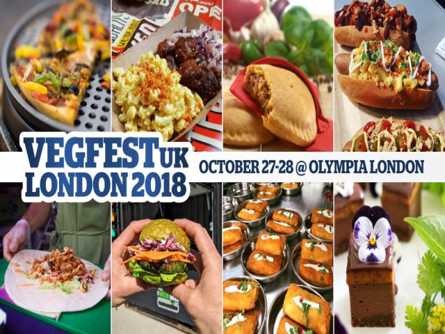 VegfestUK London 2018