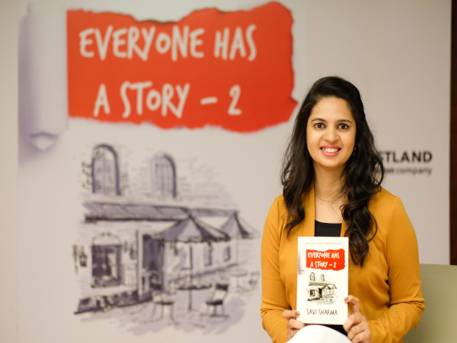 Savi Sharma to launch her latest book Everyone Has A Story -2