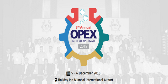 3rd ANNUAL OPEX IN CHEMICALS SUMMIT