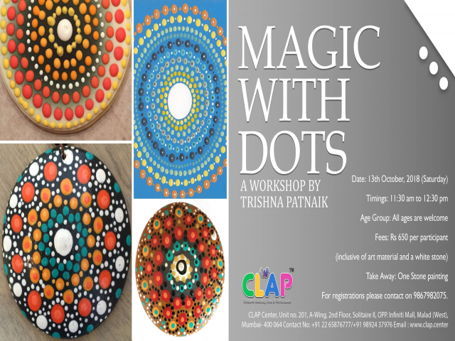 Magic with Dots by Trishna Patnaik