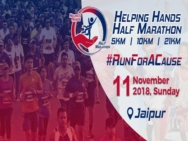Helping Hands Half Marathon - Jaipur