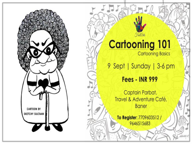 Cartooning Basics Workshop