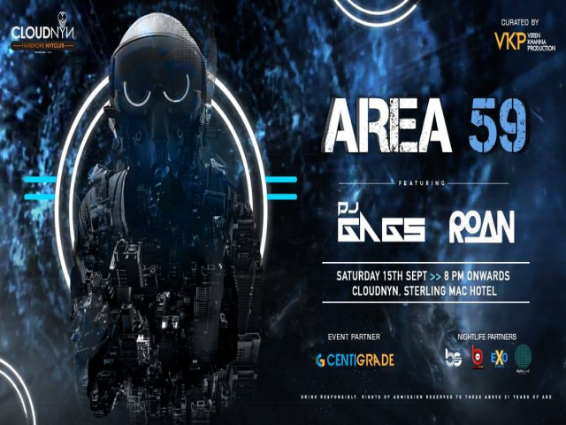 Saturday Area 59 Ft. Dj Gags And Roan At CloudNYN