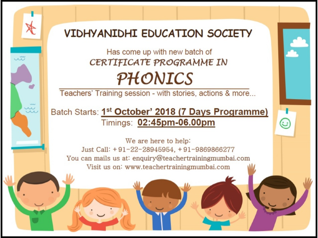 Phonics Weekdays October 2018 Batch