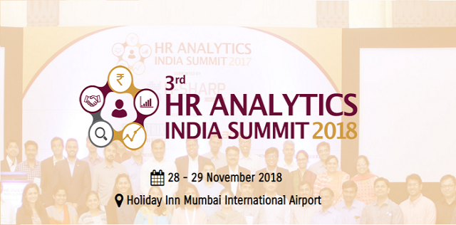 3rd HR ANALYTICS INDIA SUMMIT 2018