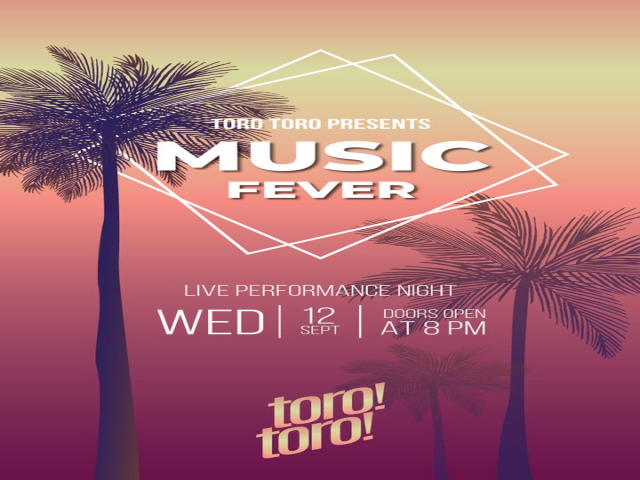 Wednesdays at TORO TORO!