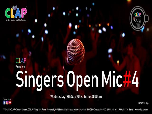Singer's Open Mic