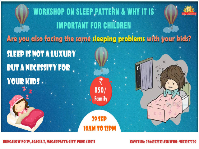 Sleep Pattern - Why it is important for Children