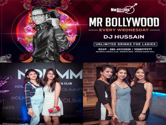 Ft. DJ Hussain. The Ladies Night Theme Party