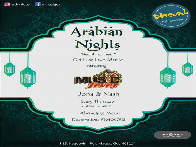 Arabian Nights 13th September 2018