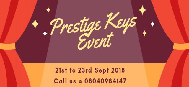 Prestige Keys Event