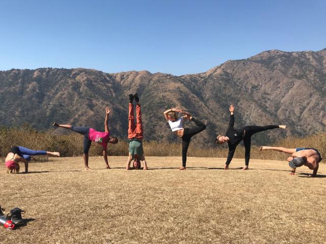 Yoga For Beginner in Rishikesh