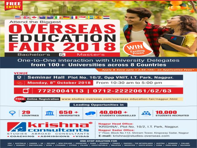 Overseas Education Fair 2018 - Nagpur
