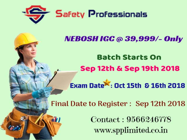Safety International Certificate Course in Chennai