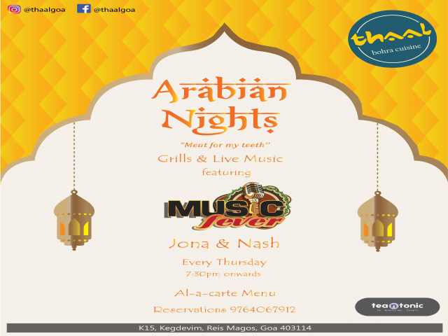 Arabian Nights 20th September 2018