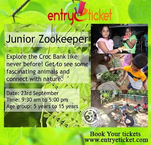 Junior Zookeeper Camp In Chennai | Entryeticket
