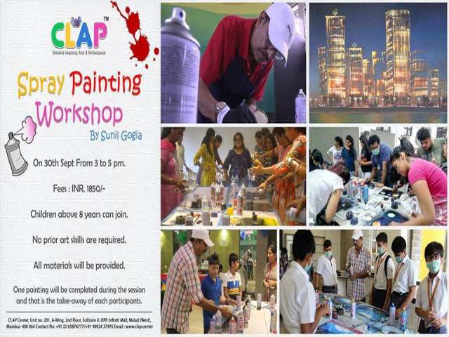 Spray Painting Workshop