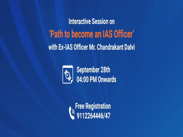 Path to become an IAS Officer