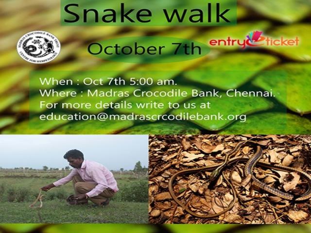 SNAKE WALK ON OCTOBER 2018