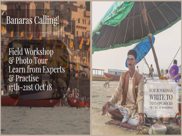 Banaras Field Workshop & Photo Tour