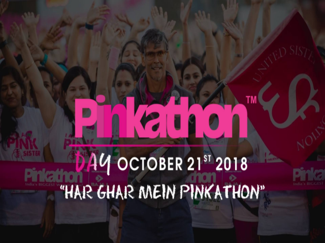 Pinkathon Day- Mumbai, Tilak Nagar