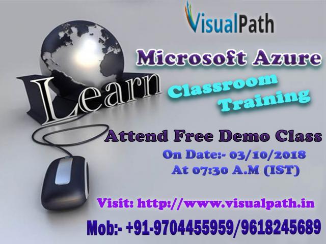 Best MS Azure Training Online | Windows Azure Training Hyderabad, India
