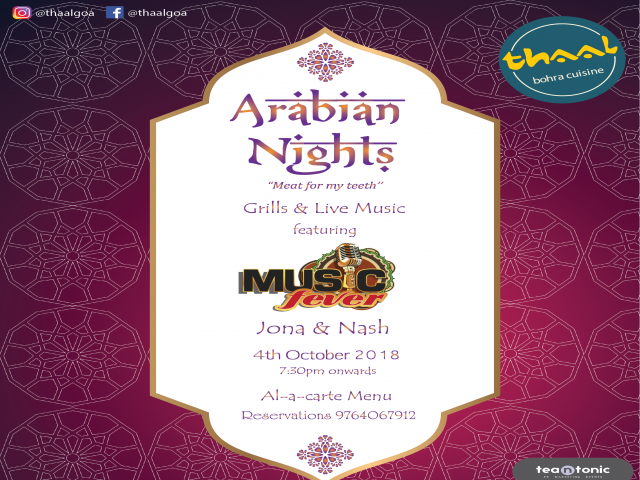 Arabian Nights 4th October 2018