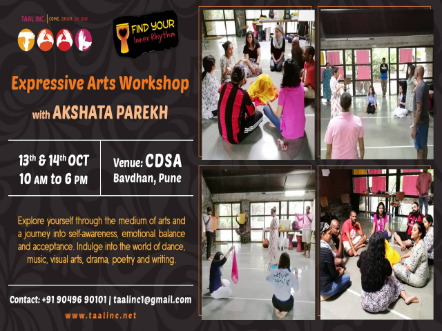 FYIR - Expressive Arts Workshop with Akshata Parekh