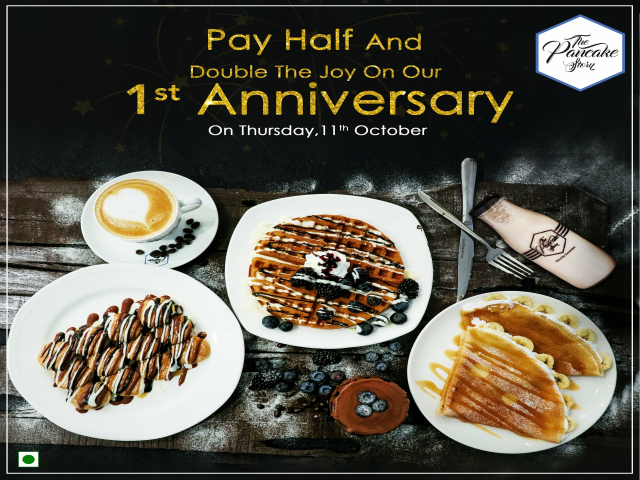 Gorge Onto The Anniversary Offer @ The Pancake Story