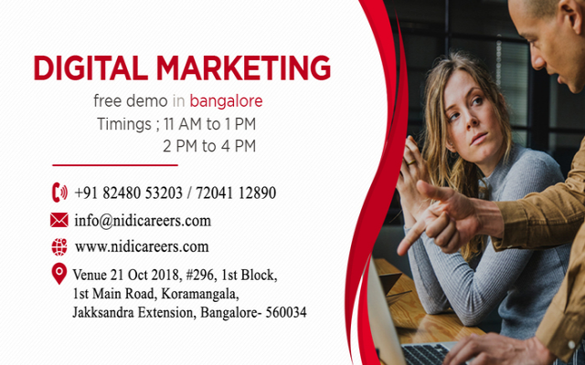 Digital Marketing free Workshop/demo