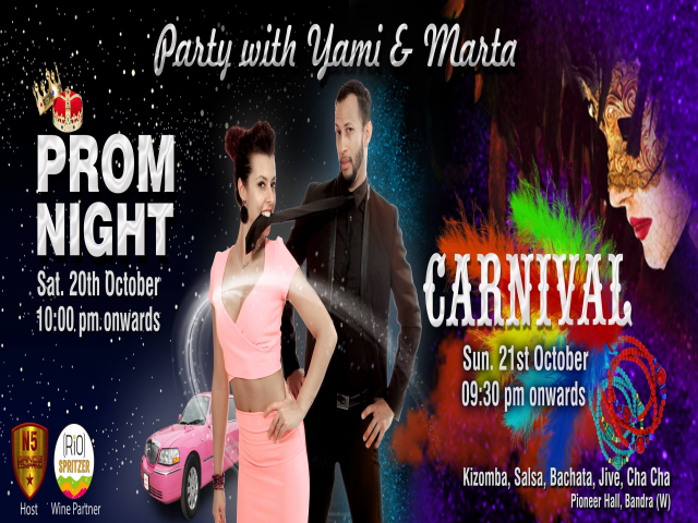 Party with International Dance Stars YAMI & MARTA