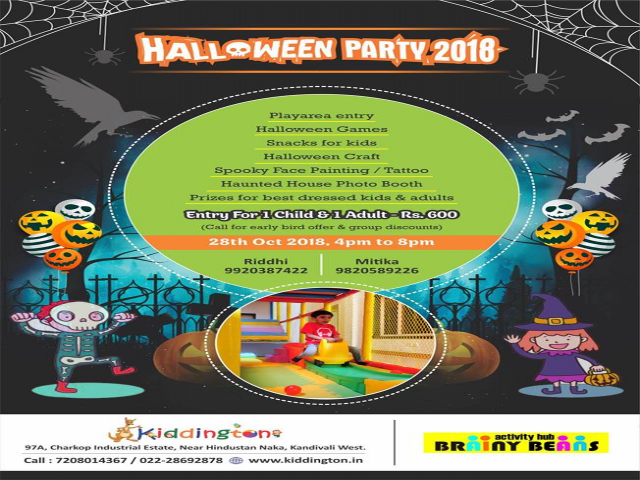 Kiddington Halloween Bash 2018