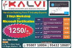 Dotnet Workshop in Madurai - Kalvigroup