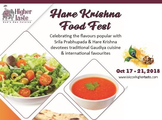 Hare Krishna Food Fest 2018