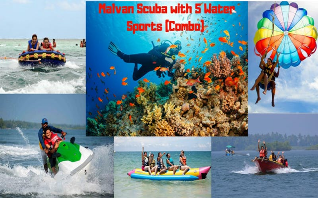 Malvan Scuba with 5 Water Sports (Combo)