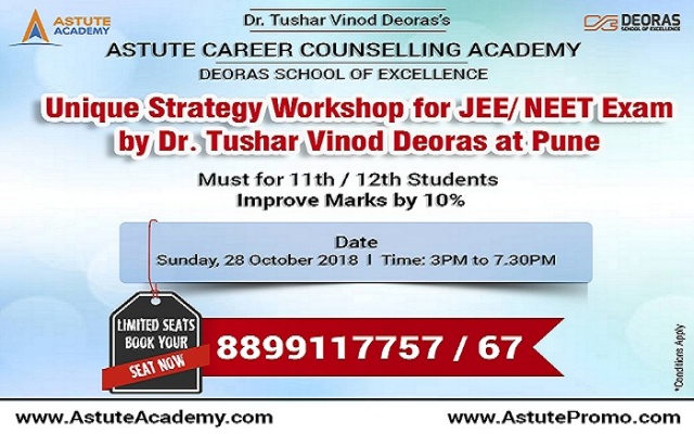 JEE-Advanced Strategy Workshop in Pune |Astute Academy