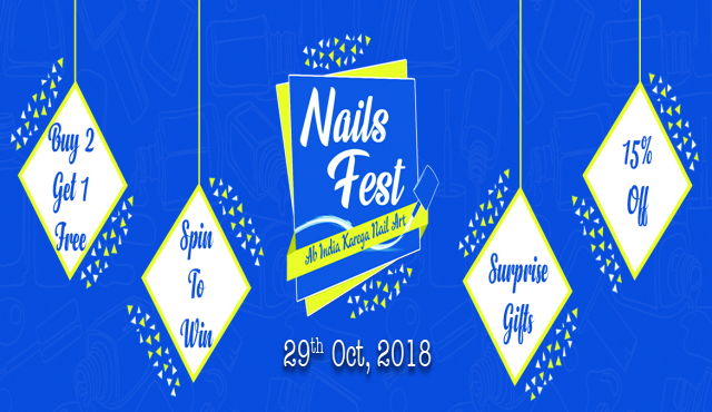 Prep Up Your Nails For India's First Nails Fest at R Nail Lounge