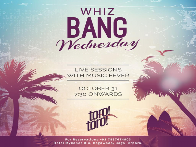Whiz Bang Wednesdays 31st October 2018