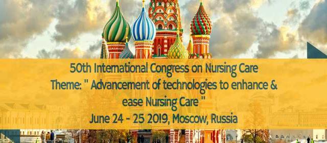 50th International Congress on Nursing Care