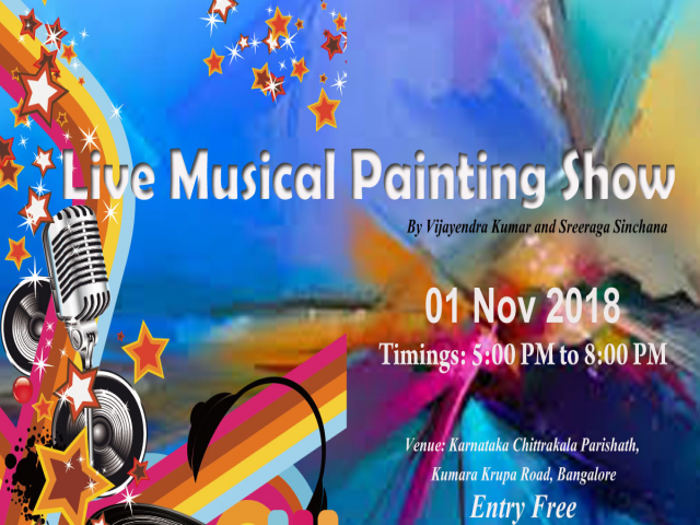 Live Musical Painting show
