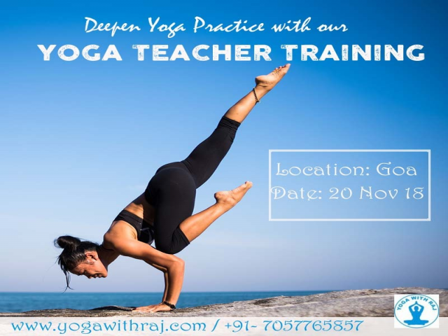 Yoga Teacher Training in Goa India | Yoga With Raj