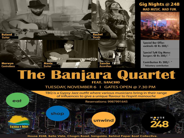 The Banjara Quartet (feat. Sancho)