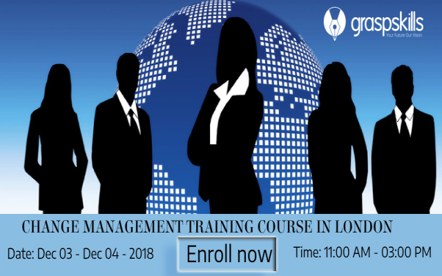 CHANGE MANAGEMENT TRAINING COURSE IN LONDON
