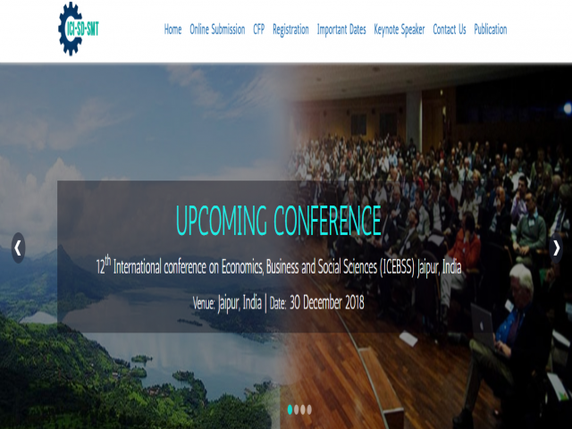 12th International conference on Economics, Business and Social Sciences