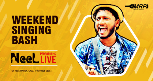 Weekend Singing Bash: NEEL Performing Live
