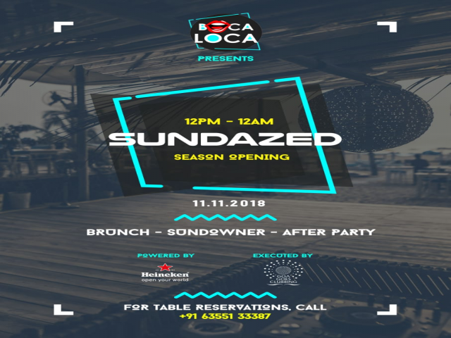 Sundazed Season Opening at Boca Loca
