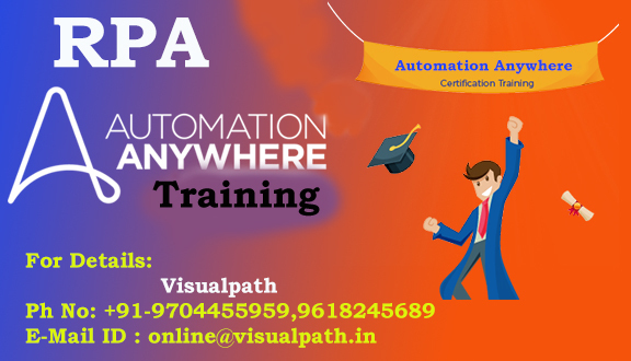 Automation Anywhere Certification Training | Automation Anywhere Certification T