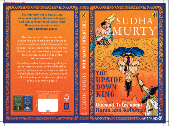 Book Launch 'The Upside Down King' by Sudha Murty