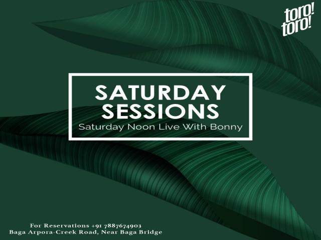 Saturday Sessions at Toro Toro 17th November 2018