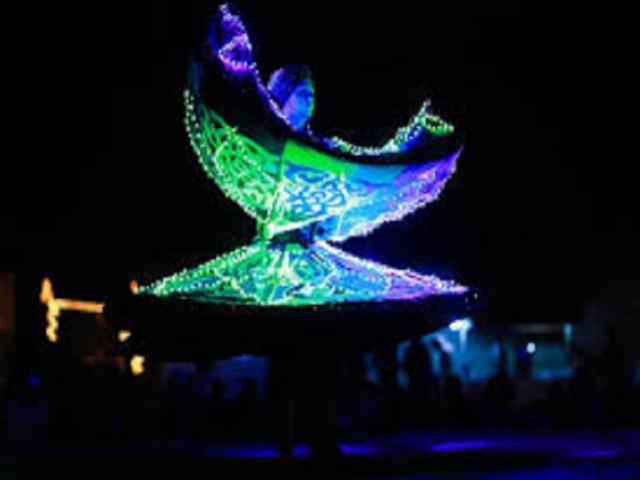 Tanura Dance Live Performance - An Artist from Egypt